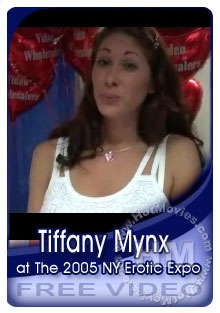 Tiffany Mynx Interview At The 2005 NY Erotic Expo Box Cover