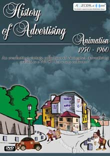 History Of Advertising Animation 1950 - 1960