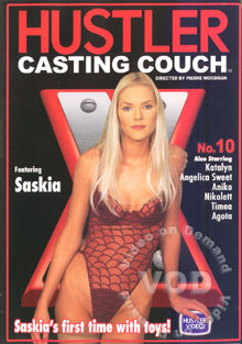 Hustler Casting Couch X No. 10 Box Cover