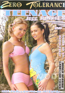Teenage Jizz Junkies Box Cover