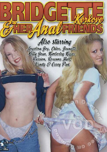 Bridgette Kerkove & Her Anal Friends Box Cover