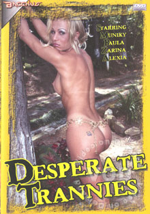Desperate Trannies Box Cover