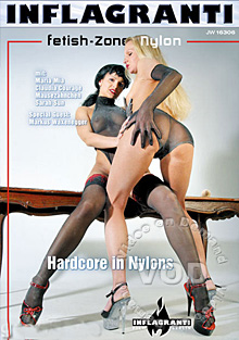 Fetish-Zone: Nylon - Hardcore in Nylons Box Cover