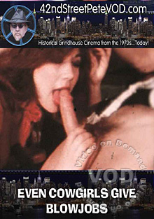 Even Cowgirls Give Blowjobs Box Cover