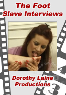 The Foot Slave Interviews Box Cover