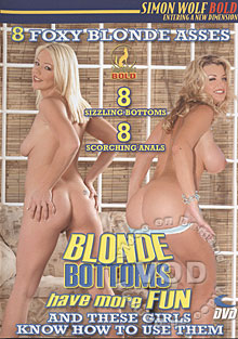 Blonde Bottoms Have More Fun