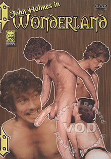 John Holmes in Wonderland Box Cover