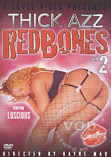 Thick Azz Redbones Vol.2 Box Cover