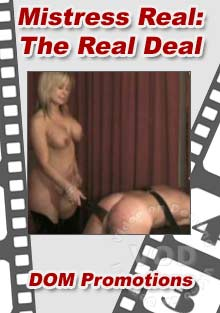 Mistress Real - The Real Deal Box Cover