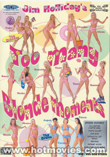 Too Many Blonde Moments Box Cover