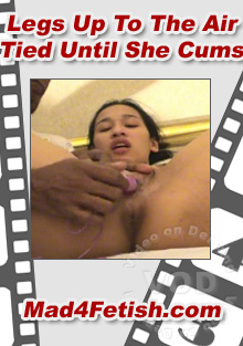 Legs Up To The Air Tied Until She Cums Box Cover