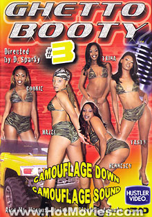 Ghetto Booty #3 Box Cover