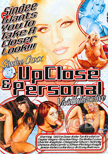Sindee Coxx - Up Close & Personal Box Cover