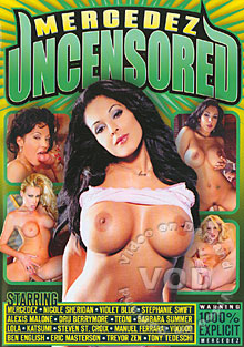 Mercedez Uncensored Box Cover