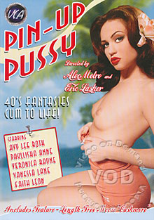 Pin-Up Pussy Box Cover