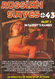 Russian Slaves #43: In Sadist's Hands Part 1 Box Cover