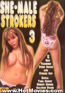She-Male Strokers 3 Box Cover