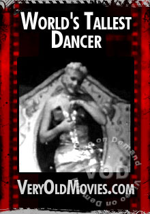 World's Tallest Dancer Box Cover