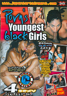 Porn's Youngest Black Girls Box Cover
