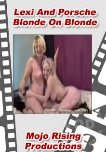 Lexi And Porshe Blonde On Blonde Box Cover
