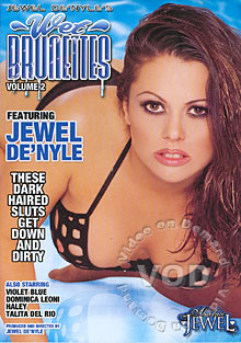 Wet Brunettes Volume 2 Box Cover