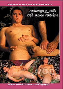 Massage & Jack Off - Rocco Gabriell