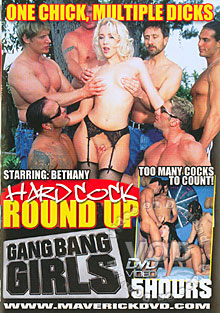 Gang Bang Girls - Hard Cock Round Up Box Cover