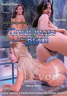 Great Asses From Brazil Box Cover