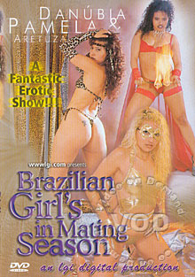 Brazilian Girls In Mating Season Box Cover