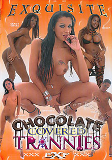 Chocolate Covered Trannies Box Cover