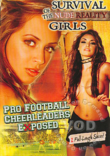 Pro Football Cheerleaders Exposed Box Cover