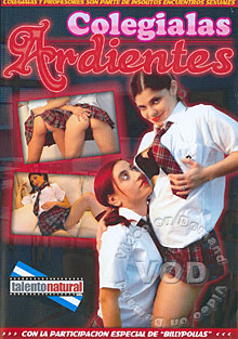 Colegialas Ardientes Box Cover