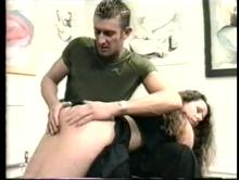 Cause For Caning - An Impromptu Spanking Clip 4 00:50:20