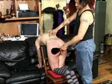 Credit Card Caning Clip 4 00:45:20