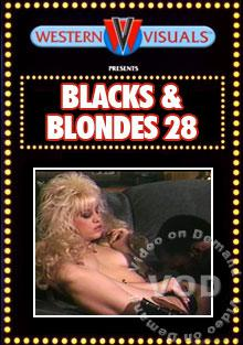 Blacks & Blondes 28 Box Cover
