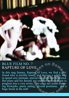 Blue Film 7 - Rapture Of Love Box Cover
