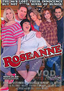 Roseanne The XXX Parody Box Cover - Login to see Back