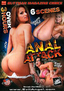 Anal Attack Box Cover