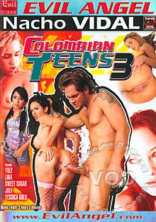 Colombian Teens 3 Box Cover