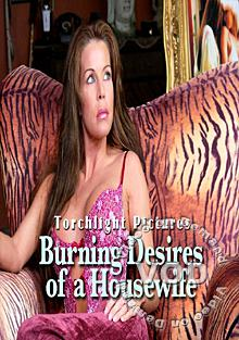 Burning Desires Of A Housewife Box Cover