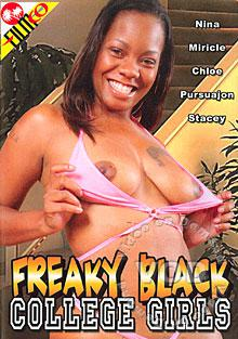 Freaky Black College Girls Box Cover