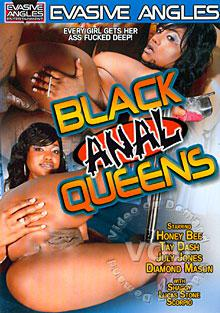 Black Anal Queens Box Cover