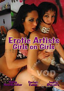 Erotic Artists : Girls On Girls Box Cover