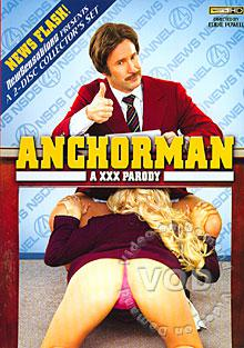 Anchorman - A XXX Parody (Disc 1) Box Cover