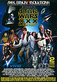 Star Wars XXX - A Porn Parody (Disc 1) Box Cover