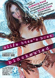 Allie Haze's Been Blackmaled Box Cover