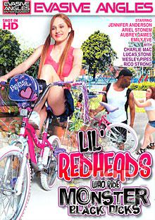 Lil' Redheads Who Ride Monster Black Dicks Box Cover