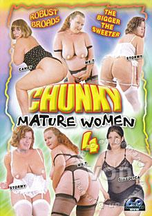 Chunky Mature Women 4 Box Cover