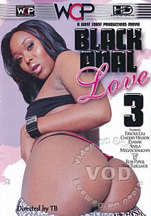 Black Anal Love 3 Box Cover