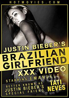 Justin Bieber's Brazilian Girlfriend XXX Video Box Cover